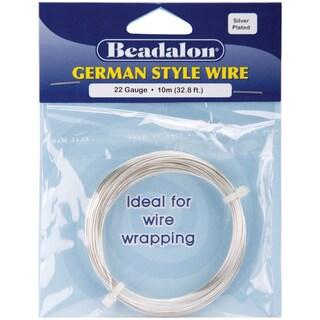 German Style WireSilver Round 22 Gauge, 32.8'
