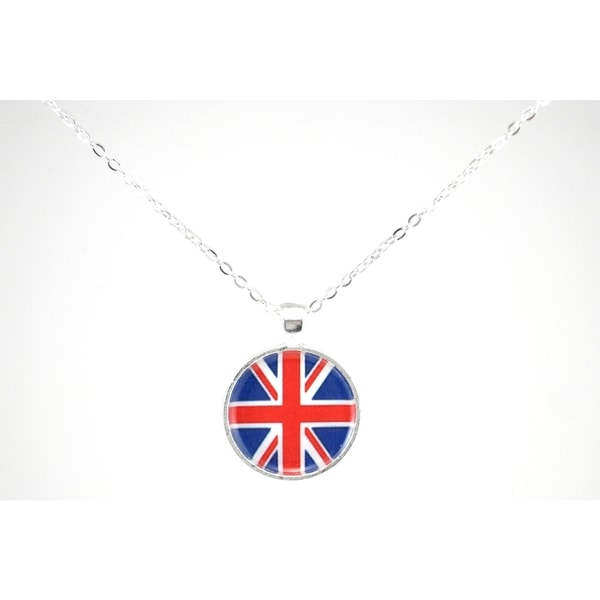 "Be The Envy ""Union Jack"" Necklace"