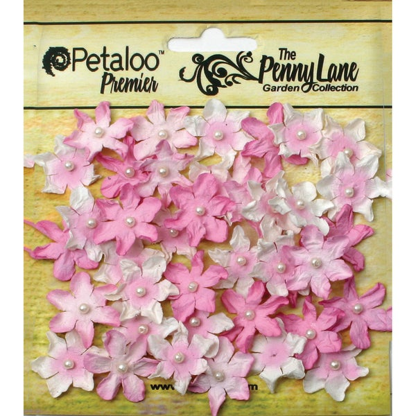 Penny Lane Mini Pearl Daisies .75in 40/PkgSoft Pink