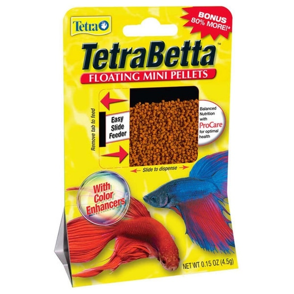 TetraBetta .15-ounce Floating Food Pellets