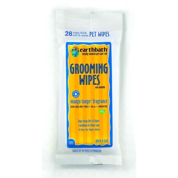 EarthBath Mango Tango Grooming Wipes (28 Count) 16140968