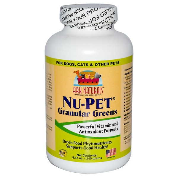 Ark Naturals Nu-Pet Granular Greens Dog and Cat Powder Supplement