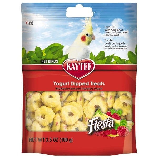 Kaytee Fiesta Yogurt Dip Treats for Birds