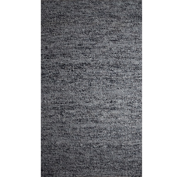 Indo Loose Weave Rug Dark Grey (8' x 10')