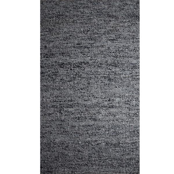 Indo Loose Weave Rug Dark Grey (8' x 10')