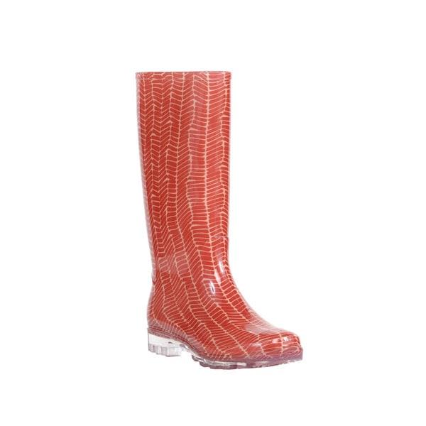 Tom's Women's Cabrilla Picante Red Rain Boot