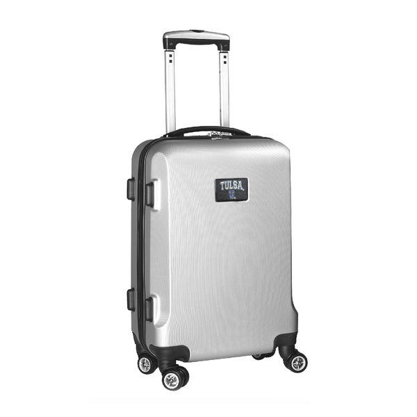 NCAA Tulsa Golden Hurricane 20-inch Carry-on Spinner Upright Suitcase