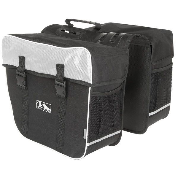 M-wave Amsterdam Double Bicycle Pannier Bag
