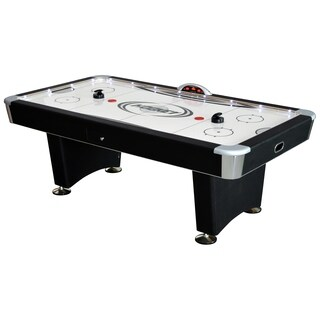 Stratosphere 7.5-foot Air Hockey Table with Music Docking Station