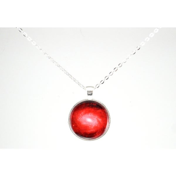 "Be The Envy ""Red Galaxy"" Necklace"