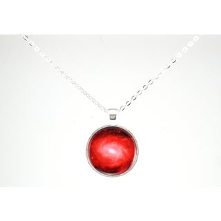 """Be The Envy """"Red Galaxy"""" Necklace"""