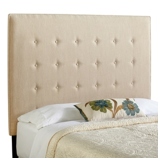 Humble + Haute Brighton Tall Full Size Light Sage Green Upholstered Headboard