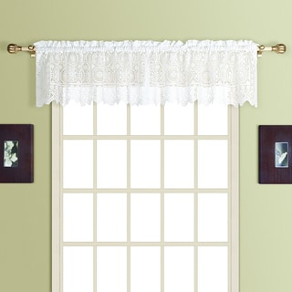 New Rochelle Lace Valance Topper