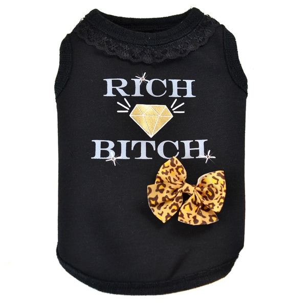 Dogs of Glamour Rich B*tch Shirt