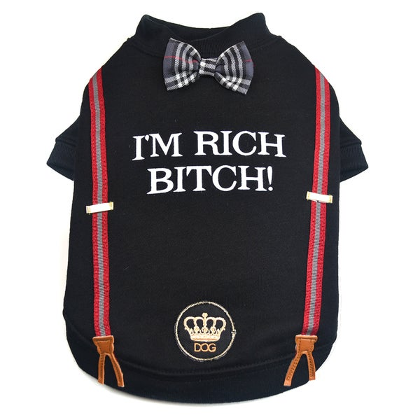 Dogs of Glamour I'm Rich Bitch. Shirt