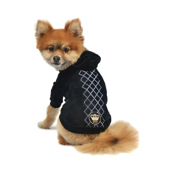 Dogs of Glamour Argyle Hoodie