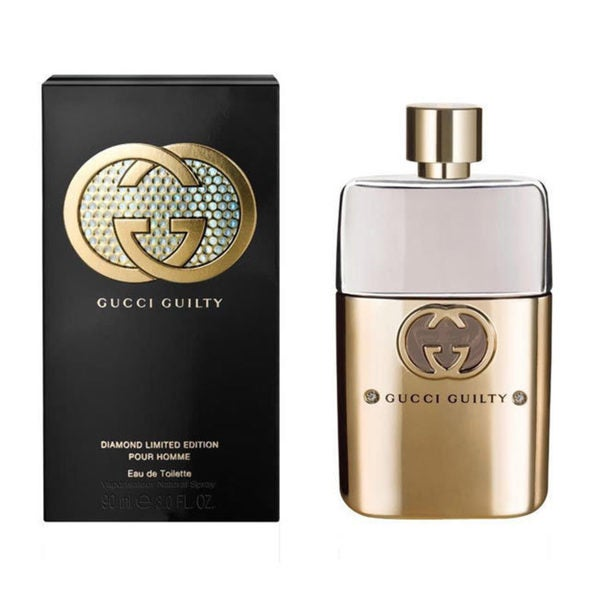 Gucci Guilty Diamonds Pour Homme Mens' 3-ounce Eau de Toilette Spray