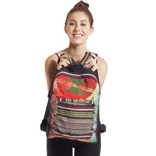 Recycled Jute Vintage Om Backpack (Nepal)