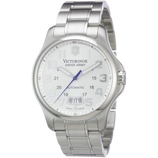 Victorinox Swiss Army Men's Officer Mecha Automatic Stainless Steel Watch 241372