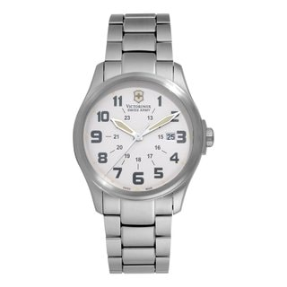 Victorinox Swiss Army Men's Infantry Vintage White Dial Watch 241293