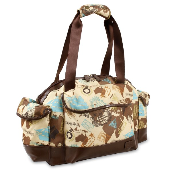 J World Atlas Deca 22-inch Carry-on Duffel Bag