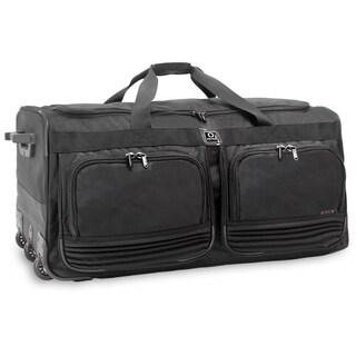 J World Brighton 33-inch Rolling Duffel Bag
