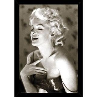 Framed Marilyn Monroe Glow Poster