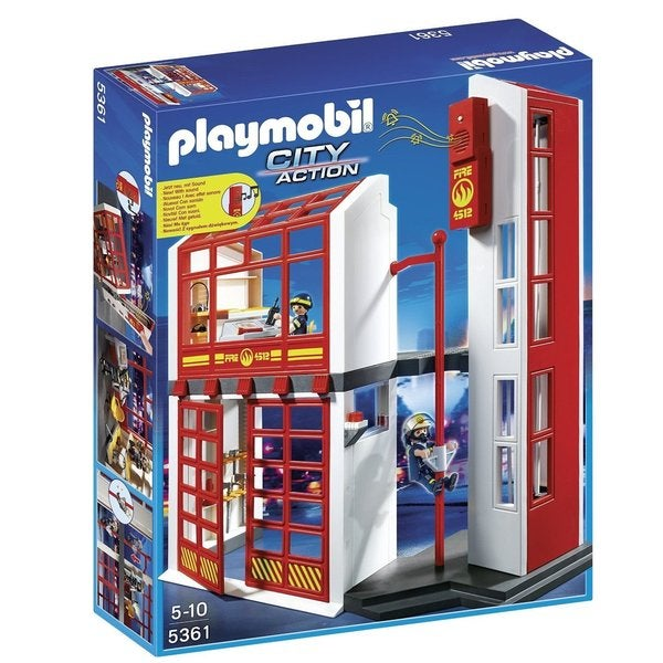 Playmobil City Action Fire Station with Alarm