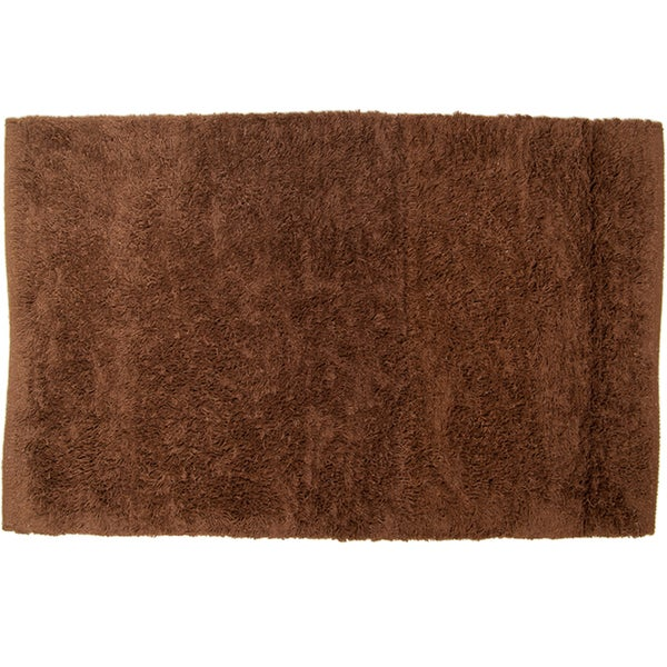 Pam Grace Creations Oh So Shaggy Chocolate Truffle Rug