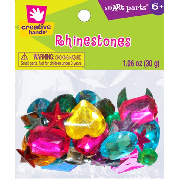 Rhinestones 1.06ozAssorted Medium