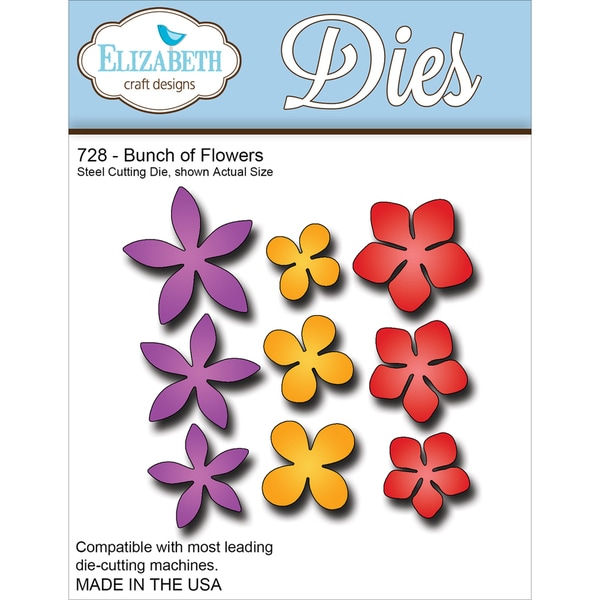 Elizabeth Craft Metal DieBunch Of Flowers