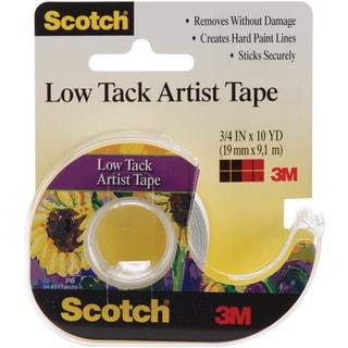 Scotch Low Tack Artist Tape.75inX10yd