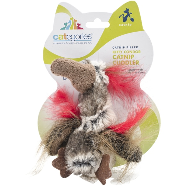 Categories Kitty Condor Catnip CuddlerBrown