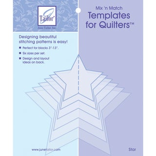 Mix'n Match Templates For Quilters 6/PkgStar
