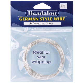 German Style WireSilver Round 24 Gauge, 37.4'