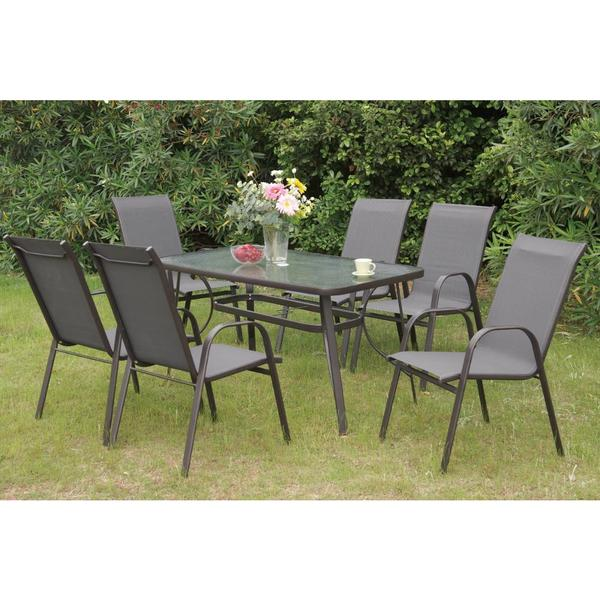 Bolinas Coast 7-piece Patio Set