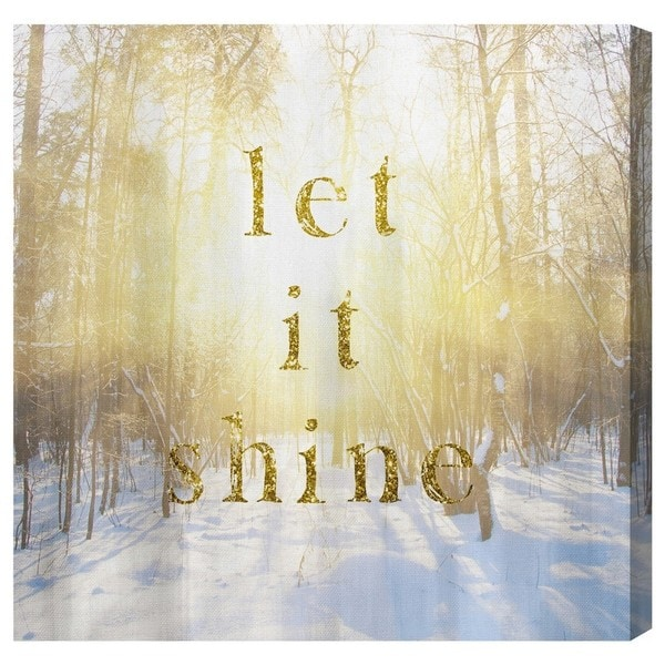 Blakely Home 'Let it Shine' Canvas Art