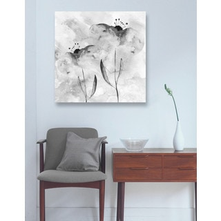 Blakely Home 'BW Flowers' Canvas Art