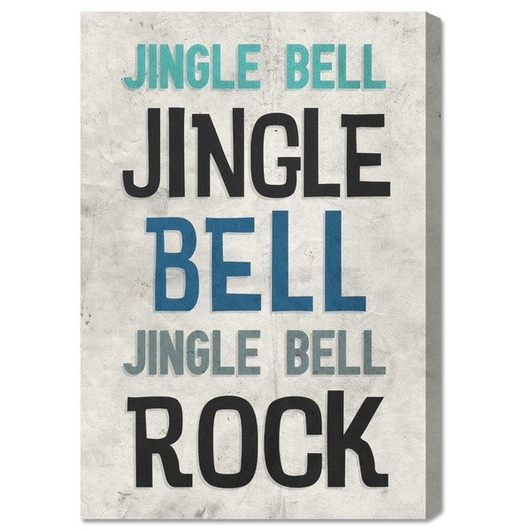 Blakely Home 'Jingle Bell Rock' Canvas Art