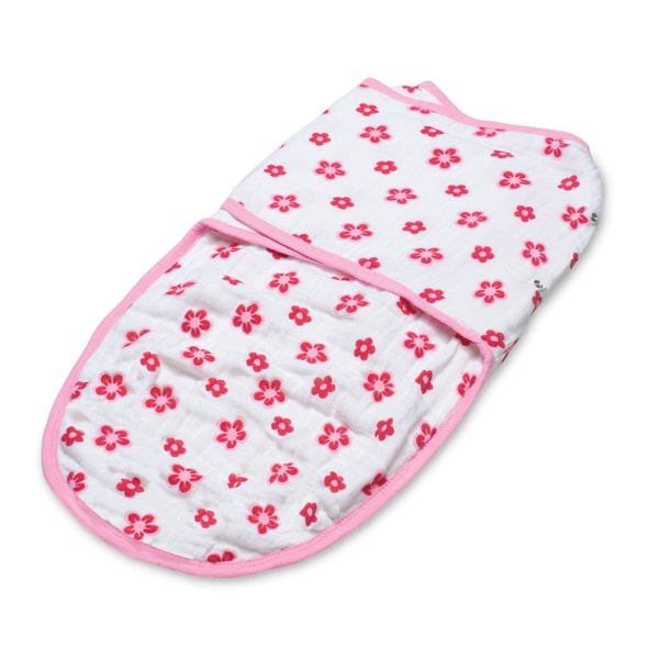 aden + anais Princess Posie Easy Swaddle Blanket