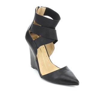 Fahrenheit Pamela-01 Women's Stylish Wedge Heels Elastic Ankle Strap Sandals