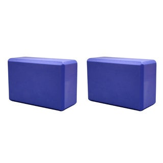 Purple Yoga Block (Pack of 2)