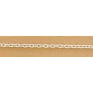 Blue Moon Small Cable Chain 70inSilver