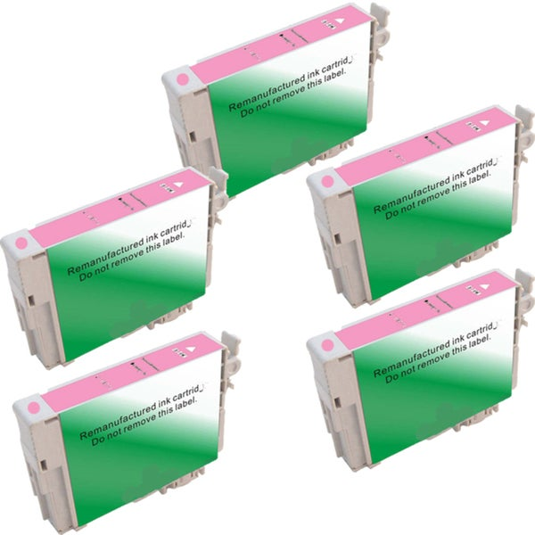 Epson T0776 Compatible Inkjet Cartridge for Stylus Photo R260 Stylus Photo R280 (Pack of 5)