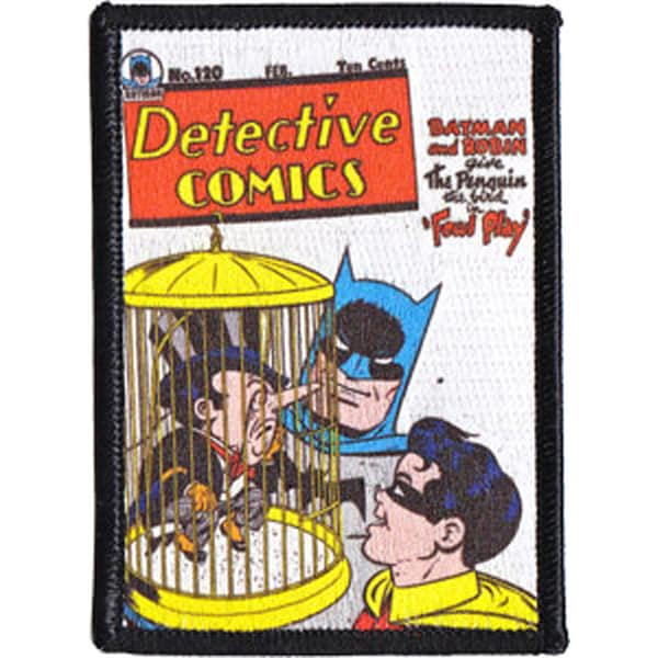 DC Comics PatchDetective Comic Book Cover 3.5inX2.5in