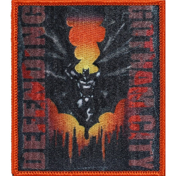 DC Comics PatchBatman Defending Gotham City 3.75inX3.25in