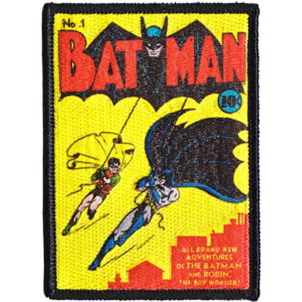 DC Comics PatchBatman Comic Book Cover 3.5inX2.5in