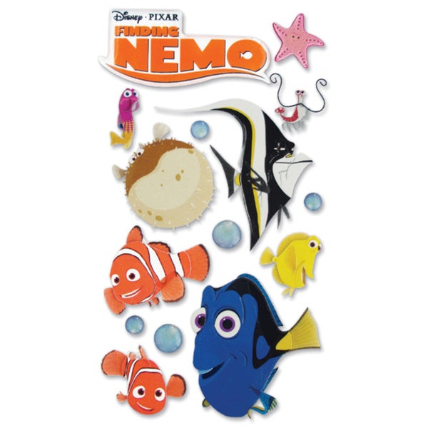 Disney Le Grande Dimensional StickersFinding Nemo
