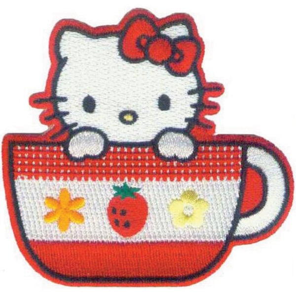 Hello Kitty PatchTea Cup
