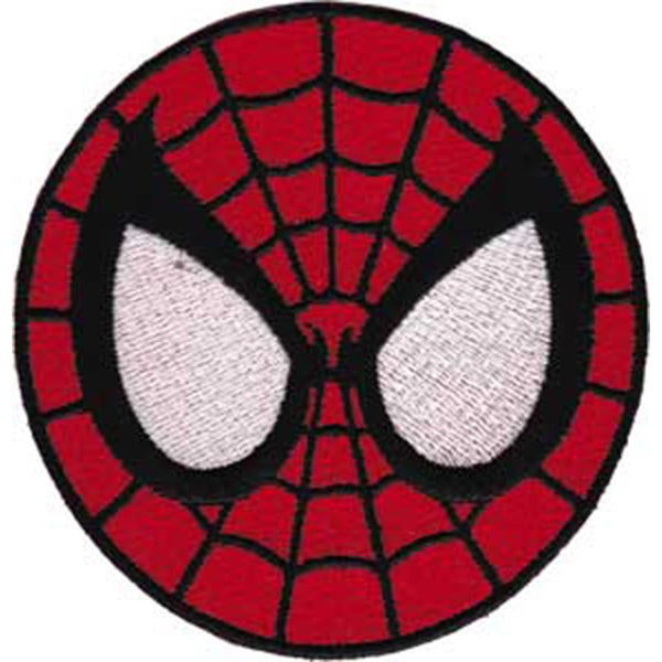 Spiderman PatchSpiderman Mask 3in 16147360